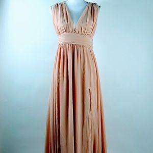 Romantic Dusty Pink LuLus Maxi Dress